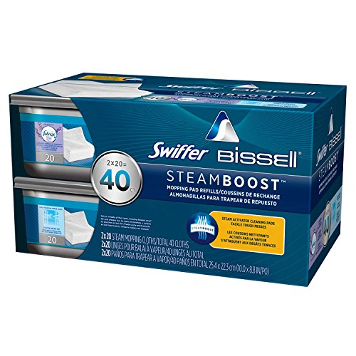 Swiffer Bissell SteamBoost Refill Pads (20 ct., 2 Pack) (Bissell Swiffer Refill compare prices)