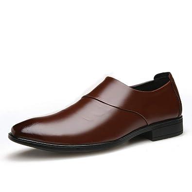 Kaister Chaussures de Mode en Cuir pour Hommes d'affaires