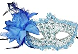 Yansanido Sexy Charm Blue Lace Mask Women's Party - Best Reviews Guide