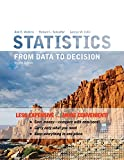 img - for Statistics: From Data to Decision 2e Binder Ready Version + WileyPLUS Registration Card (Wiley Plus Products) book / textbook / text book