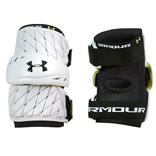 Under Armour VFT + Lacrosse Arm Pads -White-Grownup-Giant – DiZiSports Store