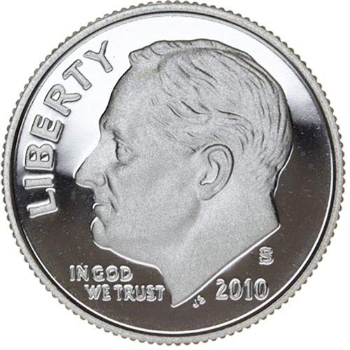 2010 S Silver Proof Roosevelt Dime Dime Choice Uncirculated US Mint