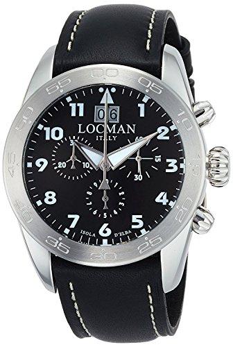 LOCMAN watch ISOLA D'ELBA 0460A01-00BKWHPK Men's