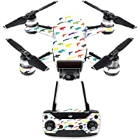 Skin for DJI Spark Mini Drone Combo - Fun Guns| MightySkins Protective, Durable, and Unique Vinyl Decal wrap cover | Easy To Apply, Remove, and Change Styles | Made in the USA