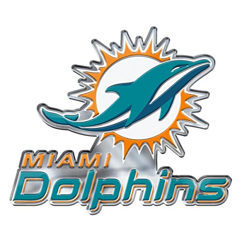 - NFL Miami Dolphins Alternative Color Logo Emblem