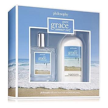 Amazon.com : Philosophy Pure Grace Summer Surf for Women 2 Piece ...
