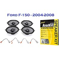 2004-2008 Ford F-150 Truck Elite Series Complete Speaker Upgrade Package - Free Stinger Roadkill Kit