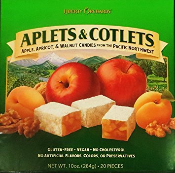 Liberty Orchards Aplets & Cotlets 10 Oz