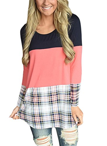 HOTAPEI Womens Casual T Shirts Blouses