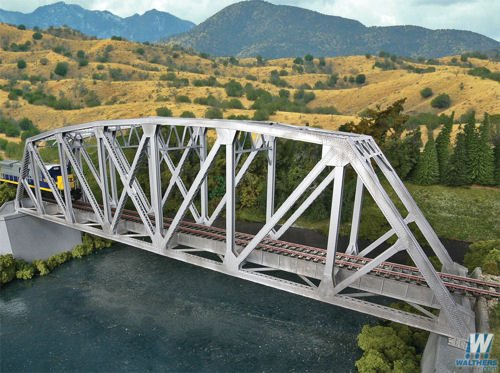 Walthers SceneMaster Arched Pratt Truss Railroad Bridge Kit Collectable Train ()