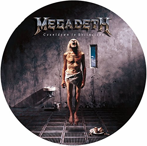 Vinilo : Megadeth - Countdown to Extinction [Explicit Content] (Picture Disc Vinyl LP)