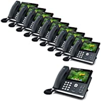 Yealink SIP-T48G 6-Line Ultra-Elegant Gigabit IP Phone (10-Pack)
