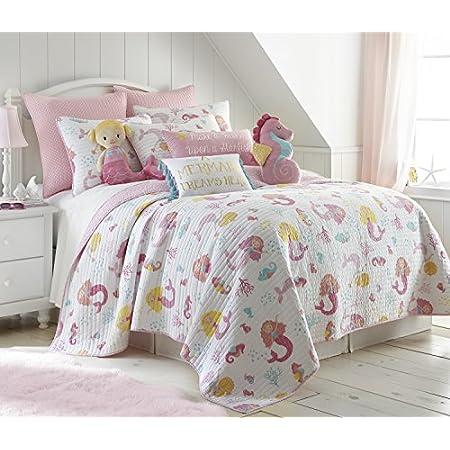 51wP%2B5-GndL._SS450_ Mermaid Bedding Sets and Mermaid Comforter Sets