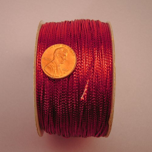 Red Metallic Cord, 1mm X 144Yd Paper Mart