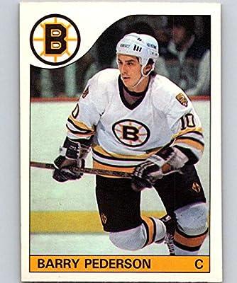 15a72561dbb Amazon.com: 1985-86 O-Pee-Chee #52 Barry Pederson Bruins NHL Hockey ...