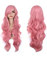 """Colorful House 32"""" Women's Long Curly Big Wavy Cosplay Costume Wig"""