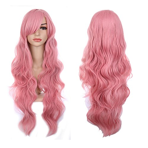 Color (Pink Costumes Wig)