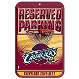 NBA Cleveland Cavaliers 29300014 Plastic Sign, 11 x 17, Black