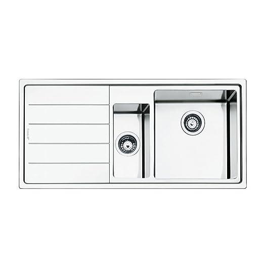 Smeg Mira LD102S-2 Insert Sink Left Hand Drainer: Amazon.co.uk ...