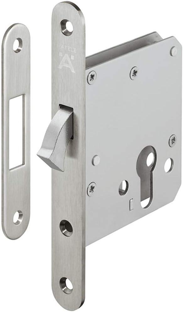 Cerradura gedotec montaje puerta corredera de candado para puerta de montar Pasea einstecken – H5500   Startec   con compás cerrojo, niquelado mate, 1 Set: Amazon.es: Bricolaje y herramientas