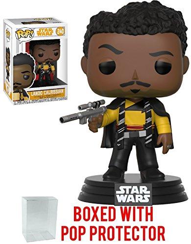 Funko Pop! Star Wars: Solo - Lando Calrissian Vinyl Figure (Bundled with Pop Box Protector Case)