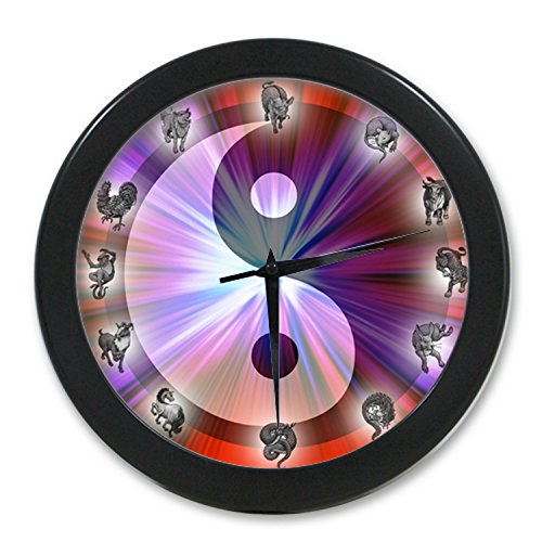 yin yang Zodiac WC417 New Fashion Wall Clock Print Art Home Office Decor resturant