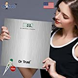 Dr. Trust Platinum Digital Scale Weighing Machine For Body Weight (180 Kgs,Silver)
