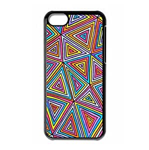 Hard back shell with Chevron Stripe theme for iPhone 5C