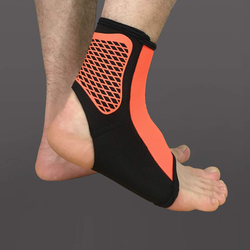 Tronet Athletic Socks//Casual Sports Safety Ankle Support Ankle Bandage Elastic Brace Guard Support Foot