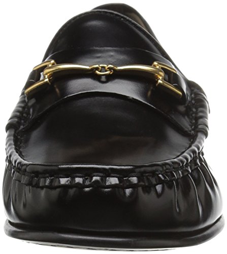 Sam Edelman Frauen Talia Slip-On Loafer Black Box Leder