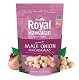 Royal Hawaiian Orchards Maui Onion Macadamias, Pack of 6/5 ounce Bags