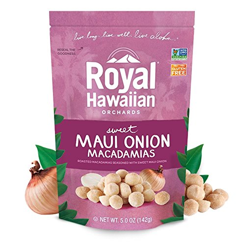 Royal Hawaiian Orchards Maui Onion Macadamias, Pack of 6/5 ounce Bags by Royal Hawaiian Orchards (Image #2)