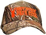 Best Buckin' Papa Hat Deer Hunting Embroidered Cap Gift Grandpa Dad Realtree