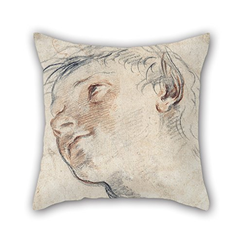 [Uloveme Cushion Cases 16 X 16 Inches / 40 By 40 Cm(twin Sides) Nice Choice For Kitchen,couch,couples,wedding,home Office,son Oil Painting Domenico Maria Canuti - Study For The Head Of A] (Diy Faun Costume)
