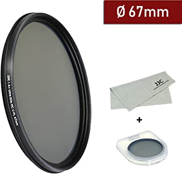 Multithreaded Glass Filter Multicoated 67mm C-PL For Nikon AF-S DX 18-140mm f//3.5-5.6G ED VR Circular Polarizer