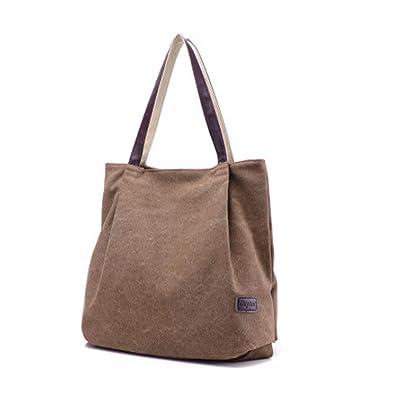 Sac à Main Mode Sac Bandoulière pour Femme Shopping Cours avec Grande  Espace Sac de Plage 009927c83c04