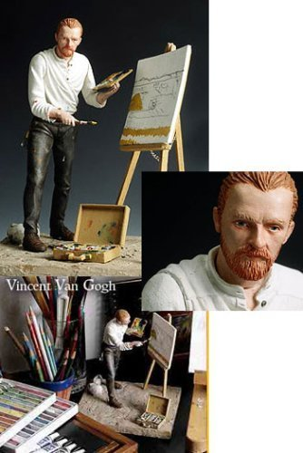VINCENT VAN GOGH ~ Fine Arts Action Figure
