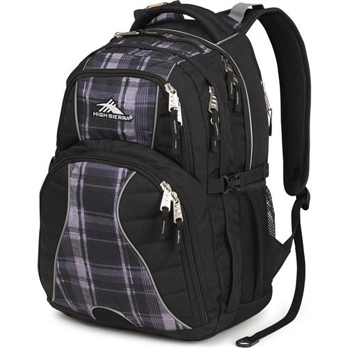 Large Product Image of High Sierra Swerve Laptop Backpack, Great for High School, College Backpack, School Bag, Business Backpack, Travel Pack, Laptop Sleeve, Perfect for Men and Women