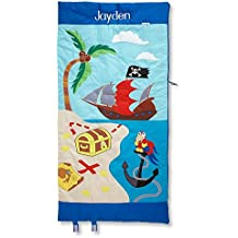 Pirate Kids Personalized Sleeping Bag by Lillian Vernon