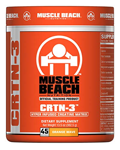 Muscle Beach Nutrition CRTN-3 45 Servings Orange Wave