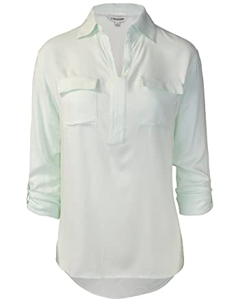 Rose Ave. Blouse Green 0