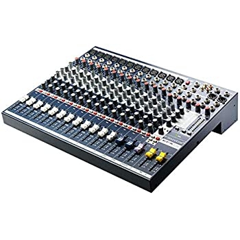 Amazon com: Soundcraft Mixer - Unpowered (FX16ii): Musical Instruments