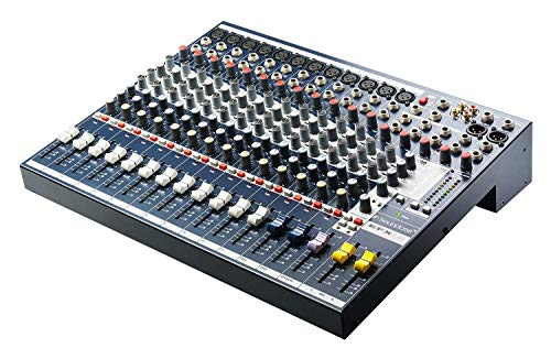 (Soundcraft EFX12 High-Performance 12-Channel Audio Mixer with Effects)