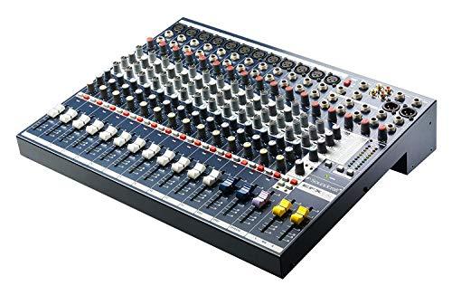 Soundcraft Mixer - Unpowered, 12 + 2 channel (EFX12) 24 Bit Lexicon Effects