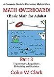 Math Overboard!, Colin W. Clark, 1457519488