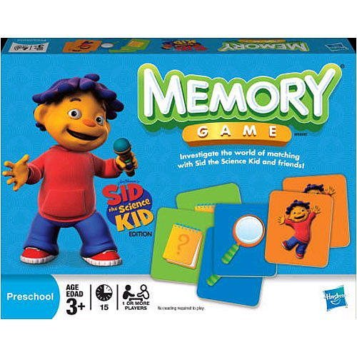 Hasbro Sid the Science Kid Edition Memory Game (Sid The Science Kid Games)