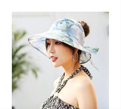 Sombreros de Verano de Primavera para Las Mujeres Arco Grande Flor ...