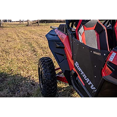 """SuperATV Extended Fender Flares for Polaris RZR XP Turbo & RZR Turbo S 