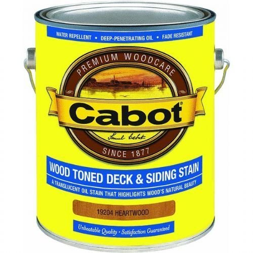 CABOT SAMUEL 19204-07 GAL HeartWD Deck Stain by CABOT (Gal Deck Stain)