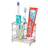 Best Bathroom Toothbrushes - Ecrocy Stainless Steel Bathroom Toothbrush Toothpast Holder Review